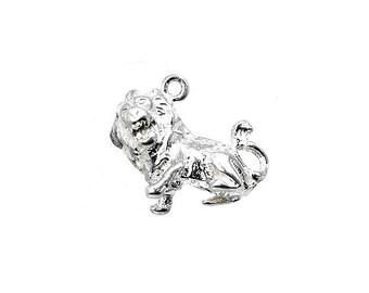 Sterling Silver Zodiac Leo Charm For Bracelets