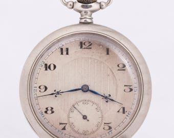 Vintage Generic Swiss Pocket watch