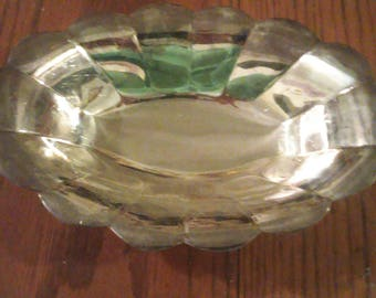 Reed and Barton Silverplated footed bowl