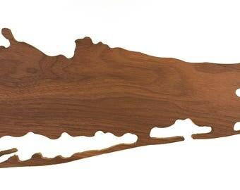 Long Island Wood Plaque
