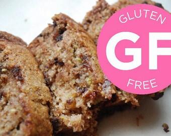 GLUTEN FREE Fresh Zucchini Bread // Vegan Bread // Gluten Free Cake
