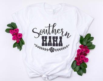 Southern Mama, Southern Shirt, Country Shirt, Simple Southern Tees, Mama Shirt, Southern Saying, Rodeo Shirt, Country Clothing