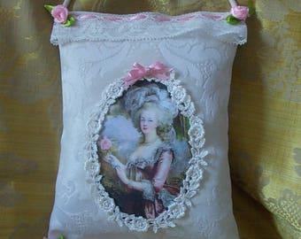 """Coussin de porte portrait """"Marie-Antoinette"""""""