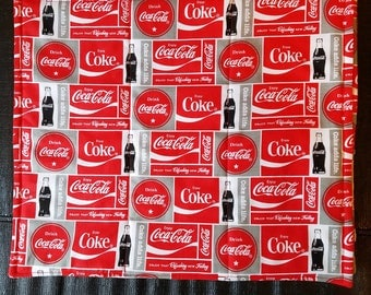 Coca Cola Reversible Placemats-set of 4
