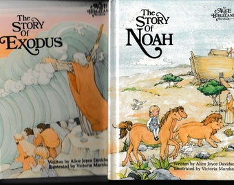 The Story of Noah and The Story of the Exodus - Two Old Testament Bible Stories for Children - Alice in Bibleland - Vintage Books