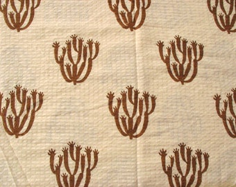 Ivory Cotton Basket Weave Fabric Textured Cotton Pillow Fabric by the Yard