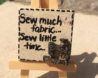 Sew Much Fabric...So Little Time...