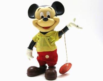 Vtg. Plastic Mickey Mouse | R. Dakin & Co. Walt Disney