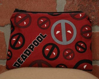 One Snack Sack, Deadpool, Reusable Lunch Bags, Waste-Free Lunch, Machine Washable, Back to School, School Lunch, item #SS56