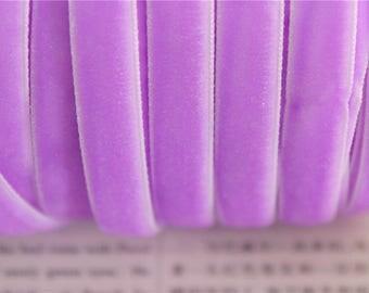 3 meters mauve10mm color velvet Ribbon