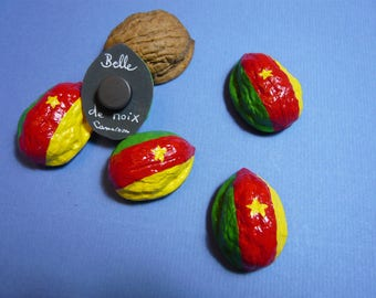 Countries of Cameroon world flag-Magnet
