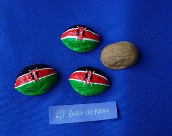 Flag Magnet worldwide Kenya