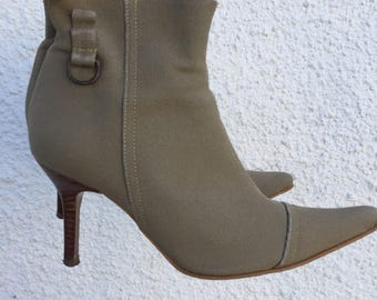 Vintage 1990s Ankle Boots