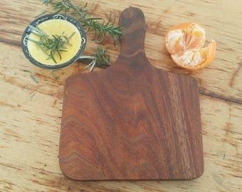 Bespoke Tasmanian Blackwood Cheese board, serving platter
