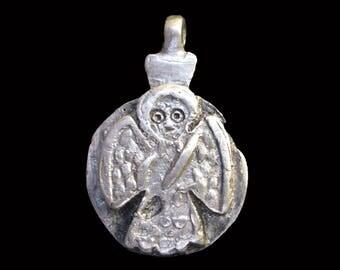 Ethiopian Saint Icon Pendant : Ethiopia Jewelry Beads