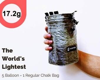 17.2g, the Lightest Chalk bag - Balloon