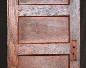 5 panel door etsy for 6 horizontal panel wood doors