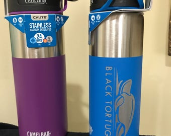 NEW! superfast personalized camelbak Chute or Eddy stainless vacuum insulated