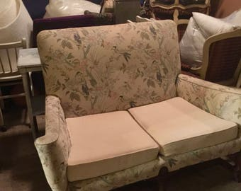PICK YOUR FABRIC for, Antique Vintage, Settee, Sofa, Couch, Loveseat.