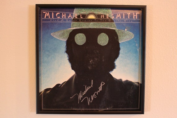 AUTOGRAPHED! Glittered Record Album - From A Radio Engine To The Proton Wing - Michael Nesmith