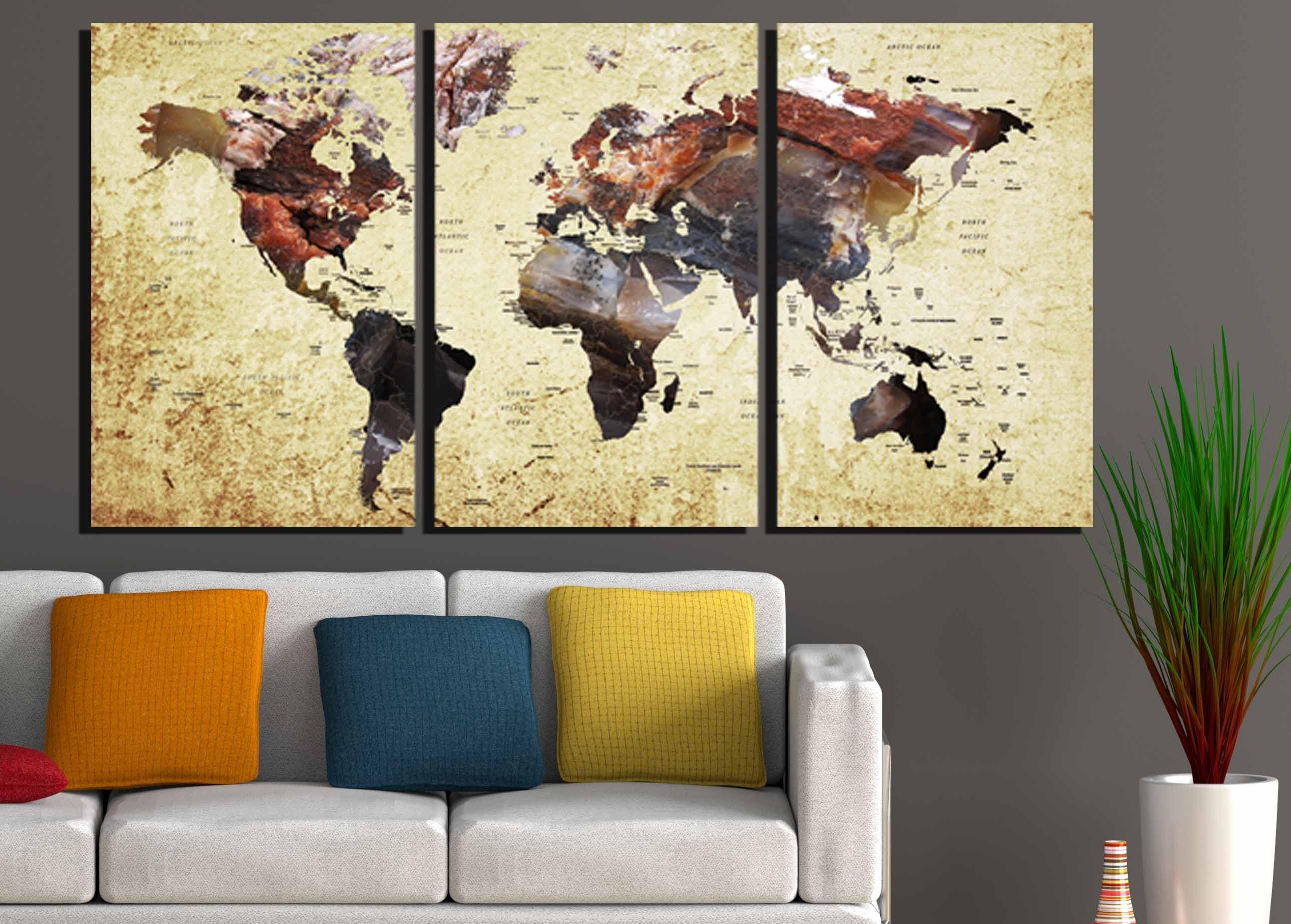 Perfect Large Map Wall Art Mold - Art & Wall Decor - hecatalog.info