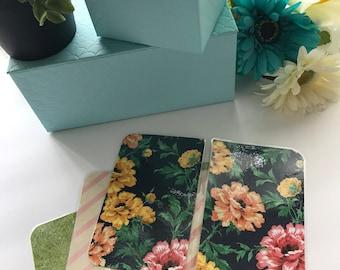 Handmade Pink/Yellow/Peach Pocket TN Dashboards