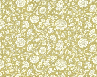 Meadow Flowers gold - Carta Varese Italy gift wrapping paper