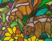 Custom Stained Glass Order for Stephanie