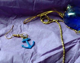 Sea Going Necklace with Earrings set