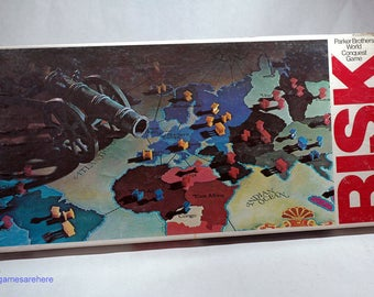 Risk Game of World Conquest from Parker Brothers 1980 COMPLETE (read description)