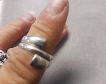 Sterling Silver Ring sz 6