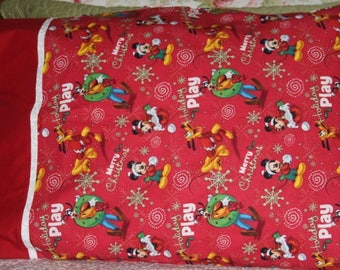 Christmas Pillowcase, Dream, Holiday, Santa Claus, Standard Pillow Case, Kid's Pillowcase, Child's Pillowcase