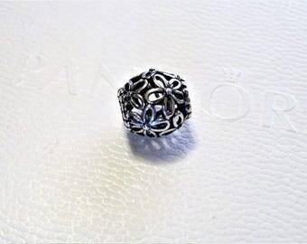 Pandora Sterling Silver  Wildflower Charm