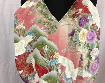 Asian tote bag, asian beach bag, asian cloth shoulder bag