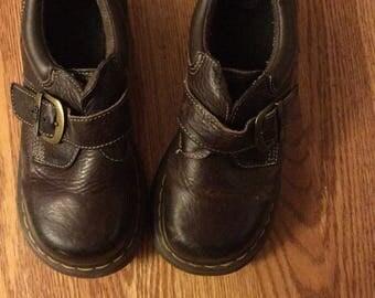 Doc Martens size 5 buckle shoes