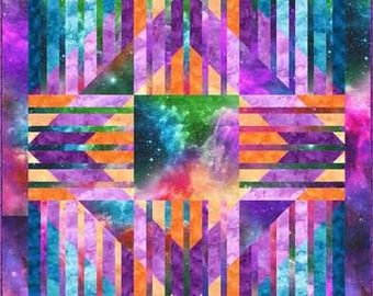 """Pattern """"Cosmic Expressions"""" by Nine Mile Patterns Paper Quilt Pattern"""