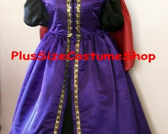 clearance evil queen renaissance gown plus size halloween costume adult womens 5x new guaranteed halloween