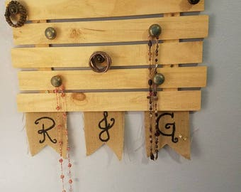 Rustic Jewelry Panel