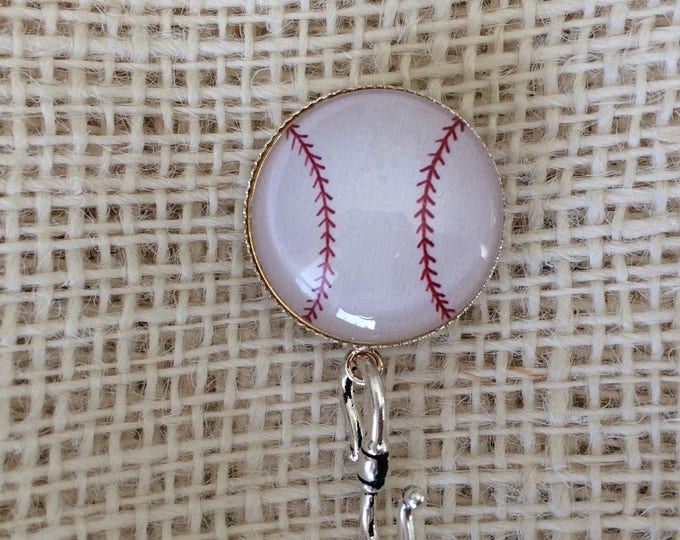 Knitting Pin - Magnetic Knitting Pin for Portuguese Knitting - Baseball
