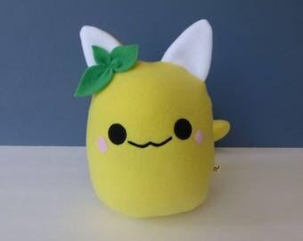 Cat Plush - Lemon Kitty