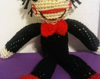 Saw Crocheted Doll