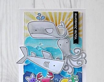 Handmade Card, Friendship, Watercolour Card