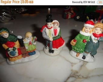 50% OFF Lot of vintage christmas ornaments ceramic
