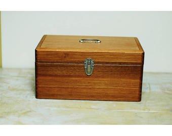 Classiky Wood First Aid Medium Size Box