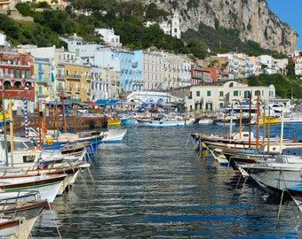 Capri, Italy Harbor