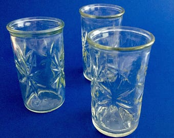 Starburst glasses etsy - Starburst glassware ...