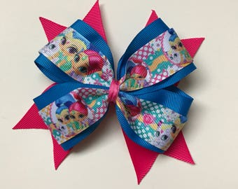 Shimmer and Shine hair bow