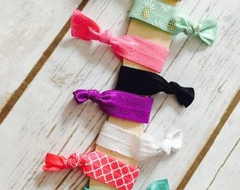 Toddler Ties|Baby Girl Hair Ties|Elastic Ties