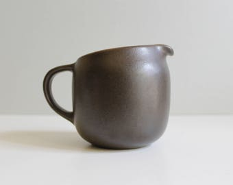 Heath Ceramics Coupe Creamer Brown California Pottery Mid Century