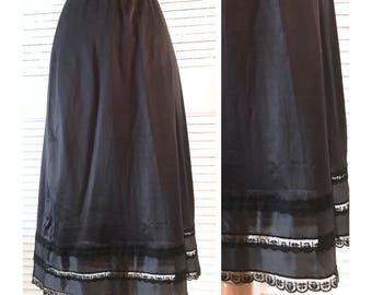 Beautiful Vintage Midi Length Half Slip, Skirt